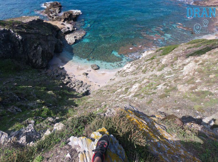 escursione isola dei porri e qua una vista mozzafiato dall'alto