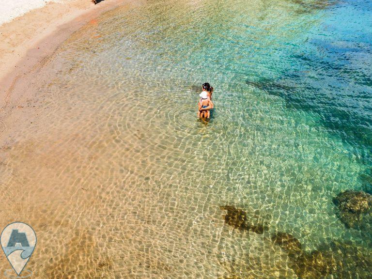 escursioni ad alghero beach taste acqua cristallina